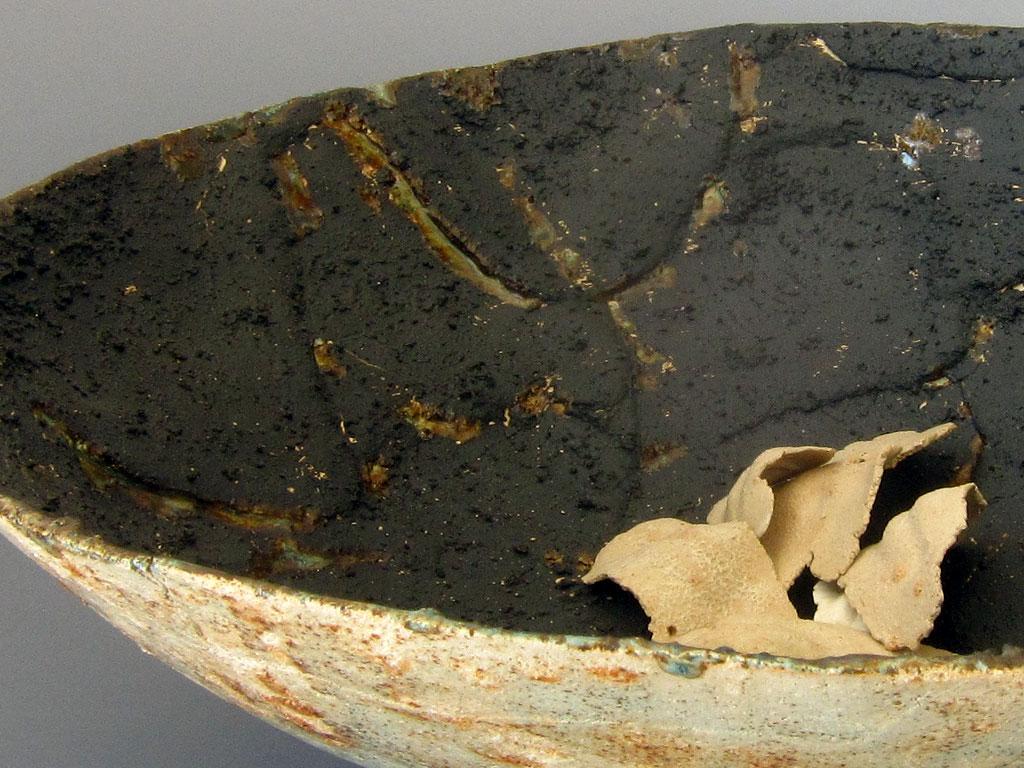 Fragments keeper vessel (detail) by Alenka Sekne
