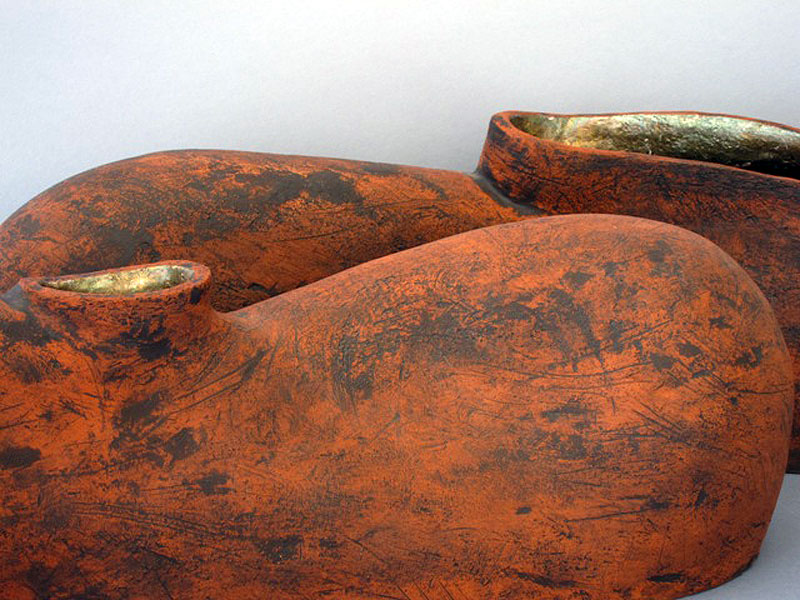 Shoulders (detail) Sculptural Vessels by Alenka Sekne