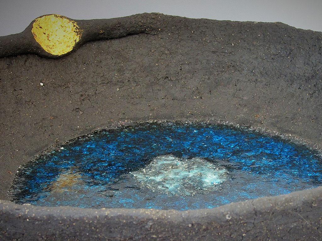 Winter sun vessel (detail) by Alenka Sekne