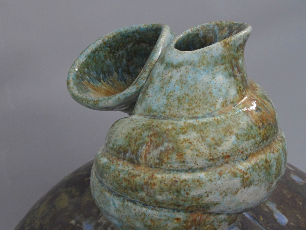 Connected 2 (detail) Sculptural Vessels by Alenka Sekne